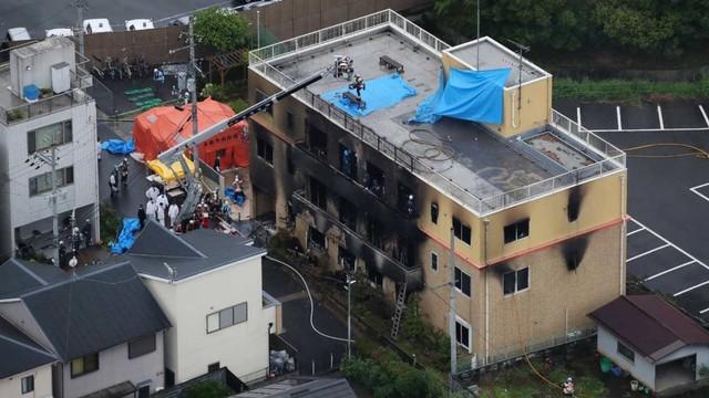 Kyoto, Jepang, Studio Animasi Dibakar