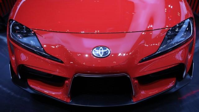 Foto: Tampilan Toyota GR Supra di GIIAS 2019 (236819)
