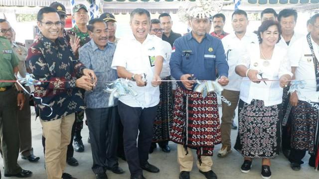 Peresmian SPBU BBM satu harga di Kabupaten Rote Ndao, Nusa Tenggara Timur