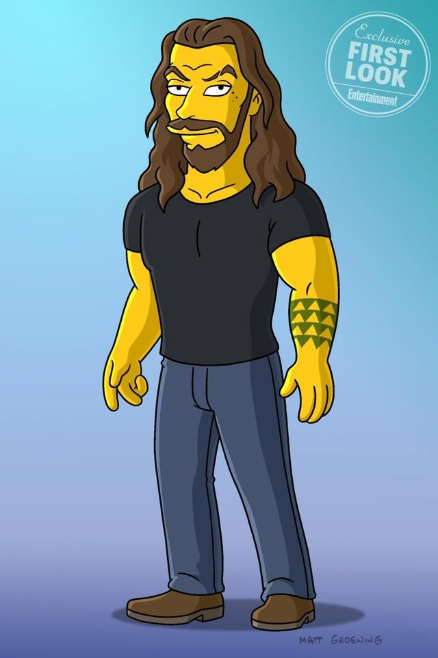 Jason Momoa sebagai karakter Simpson