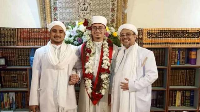 Rizieq Syihab nikahkan anaknya di Mekkah