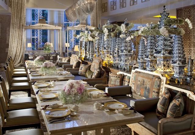 Table8, Hotel Mulia Senayan, Jakarta.