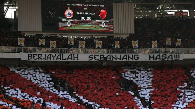 Foto: Kemenangan Persija Melawan PSM di Leg I Final Piala Indonesia (36326)
