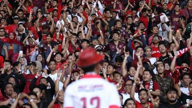 Foto: Kemenangan Persija Melawan PSM di Leg I Final Piala Indonesia (36327)