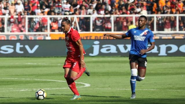 Foto: Kemenangan Persija Melawan PSM di Leg I Final Piala Indonesia (36319)