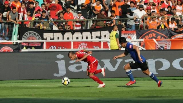 Foto: Kemenangan Persija Melawan PSM di Leg I Final Piala Indonesia (36317)