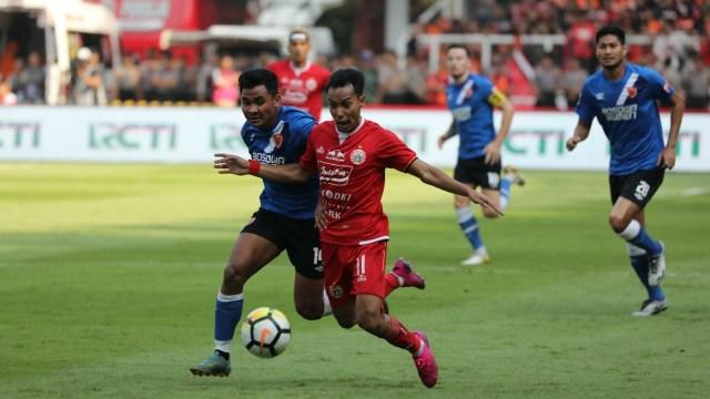 Foto: Kemenangan Persija Melawan PSM di Leg I Final Piala Indonesia (36314)