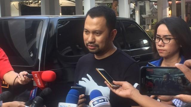 Kasubdit 1 Direktorat Reserse Narkoba Polda Metro Jaya, AKBP Calvin Simanjuntak, Mapolda Metro Jaya.