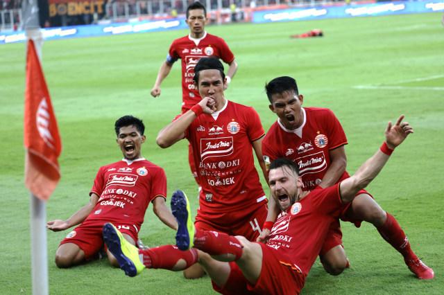 Foto: Kemenangan Persija Melawan PSM di Leg I Final Piala Indonesia (36321)
