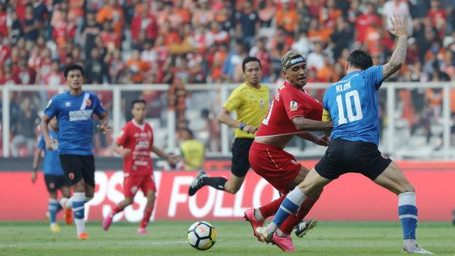 Foto: Kemenangan Persija Melawan PSM di Leg I Final Piala Indonesia (36313)