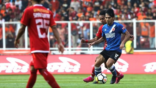 Foto: Kemenangan Persija Melawan PSM di Leg I Final Piala Indonesia (36311)
