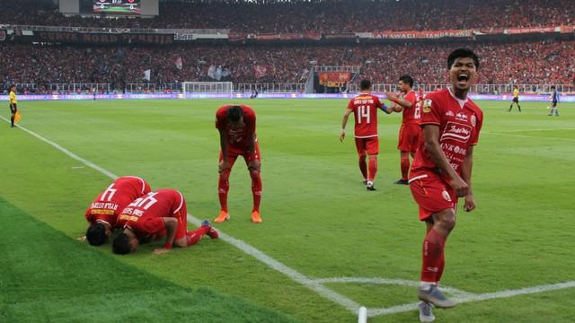 Foto: Kemenangan Persija Melawan PSM di Leg I Final Piala Indonesia (36320)