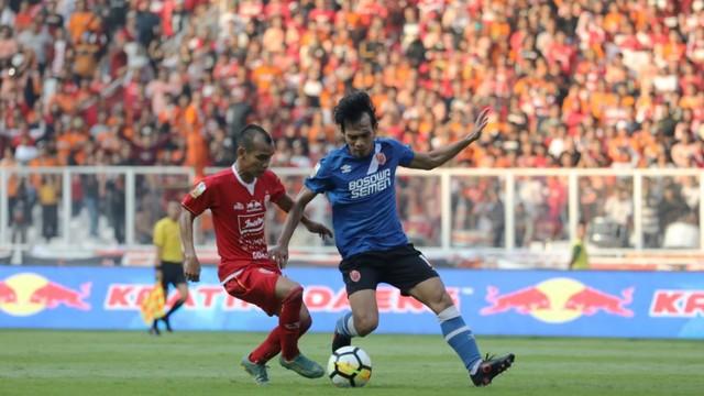 Foto: Kemenangan Persija Melawan PSM di Leg I Final Piala Indonesia (36312)