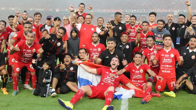 Foto: Kemenangan Persija Melawan PSM di Leg I Final Piala Indonesia (36305)