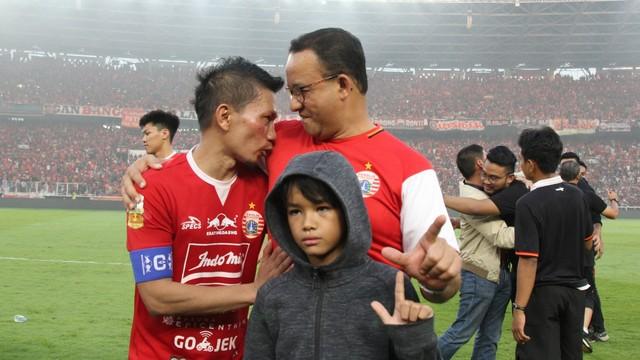 Foto: Kemenangan Persija Melawan PSM di Leg I Final Piala Indonesia (36324)