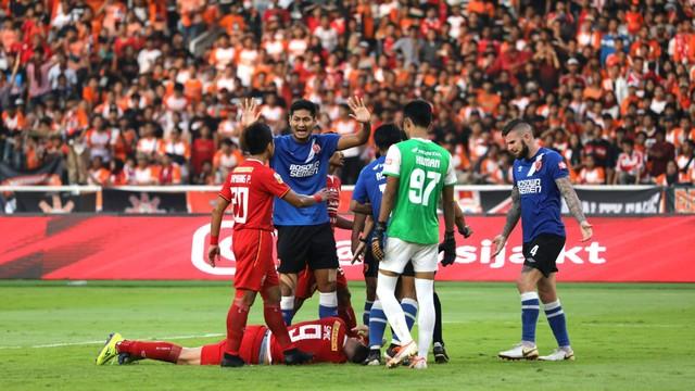 Foto: Kemenangan Persija Melawan PSM di Leg I Final Piala Indonesia (36307)