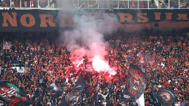 Foto: Kemenangan Persija Melawan PSM di Leg I Final Piala Indonesia (36322)