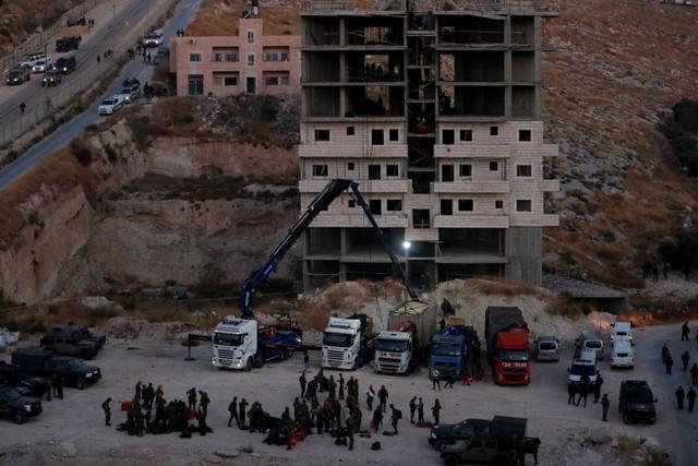 Israel Gusur 100 Rumah Warga Palestina (745707)