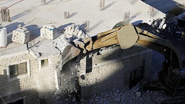Israel Gusur 100 Rumah Warga Palestina (745705)