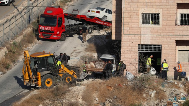 Israel Gusur 100 Rumah Warga Palestina (745704)