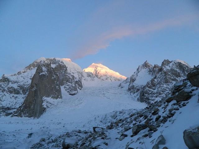 Penampakan Gletser Siachen