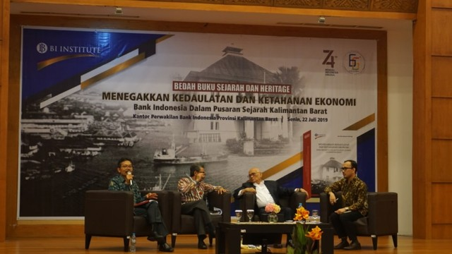 Jejak Sejarah Ekonomi Kalbar dalam Peluncuran Buku Bank Indonesia (728608)