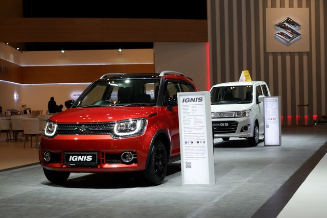 Suzuki Ignis dan Karimun Wagon R di GIIAS 2019