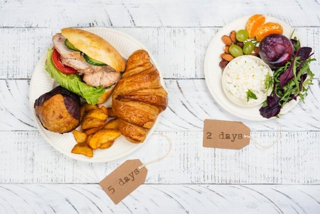 Ilustrasi Diet Intermittent Fasting