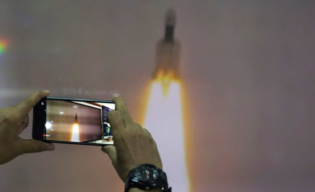 Geosynchronous Satellite launch Vehicle (GSLV), Indian Space Research Organization (ISRO), Chandrayaan-2