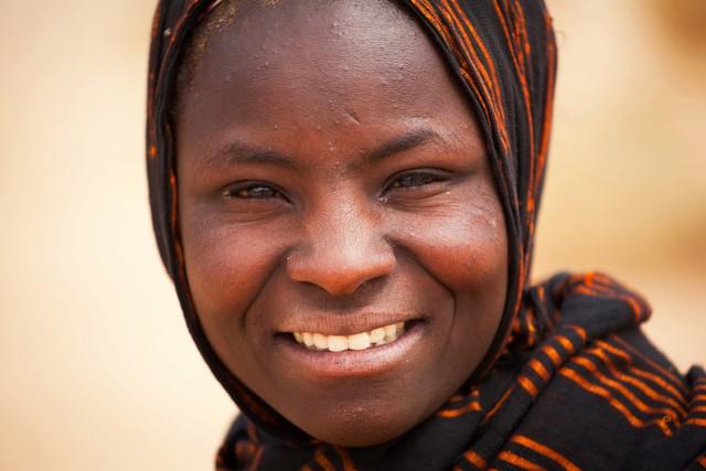 Potret Wanita Suku Tuareg