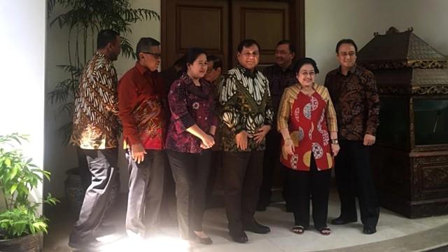 Prabowo Tiba di Teuku Umar, Disambut Megawati, BG, hingga Puan (117692)