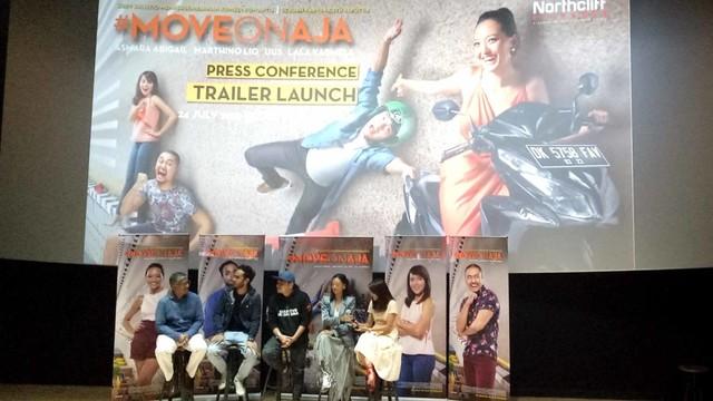 Konferensi pers trailer film #Moveonaja