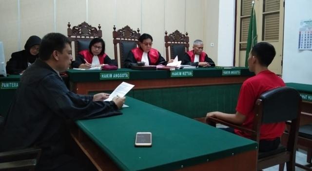 Penyebar Hoaks Suara 01 Tercoblos di Medan Divonis 1 Tahun 2 Bulan Bui (350604)