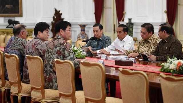 Jokowi bertemu pimpinan Hyundai Motors Group
