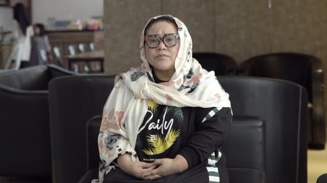 Keluarga Nunung Kosongkan Rumah agar Bisa Didisinfektan (24322)