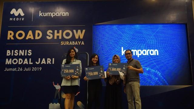 com-Roadshow Mediv Surabaya, inilah para peserta yang beruntung mendapatkan Mediv Cash.
