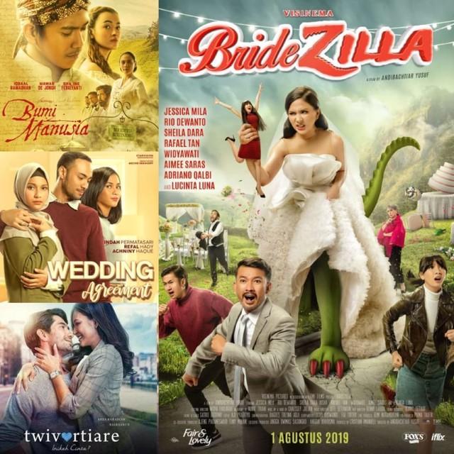 4 Rekomendasi Film Romantis Indonesia yang Tayang Bulan