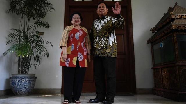 Momen Kemesraan Politik Megawati - Prabowo  (56668)