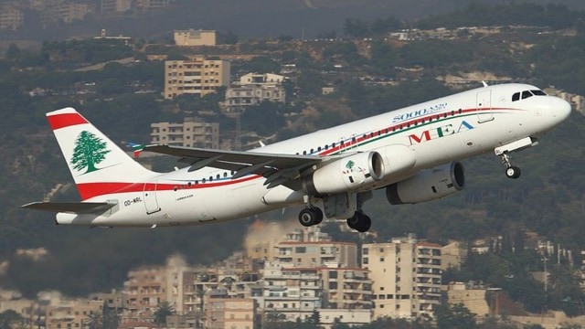 Ilustrasi pesawat Middle East Airlines