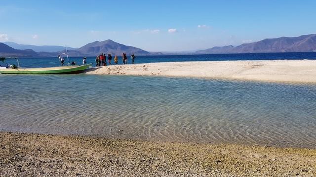 Foto: Pesona Terumbu Karang di Pulau Nisa Pudu, NTB (1089)