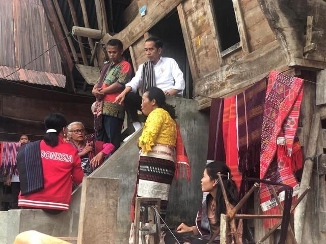 Presiden Jokowi Kunjungi Kampung Ulos, Selasa (30/7)