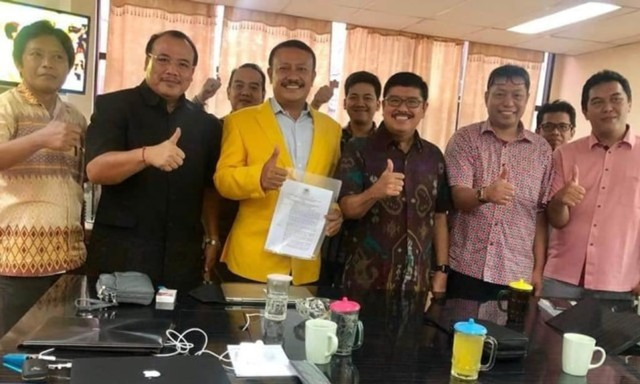 Airlangga Hartarto Dapat Dukungan Penuh dari DPD Golkar Bali (6695)