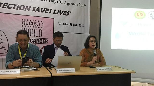 Konferensi pers Pehimpunan Dokter Paru Indonesia