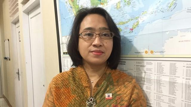 Dr.Sita L. Andarini, Doktor Spesialis Paru Rs Persahabatan.