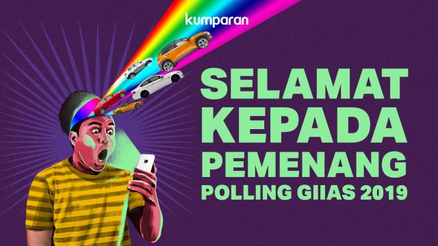 Inilah Pemenang Smartphone dari Polling Mobil Favorit GIIAS 2019  (47001)