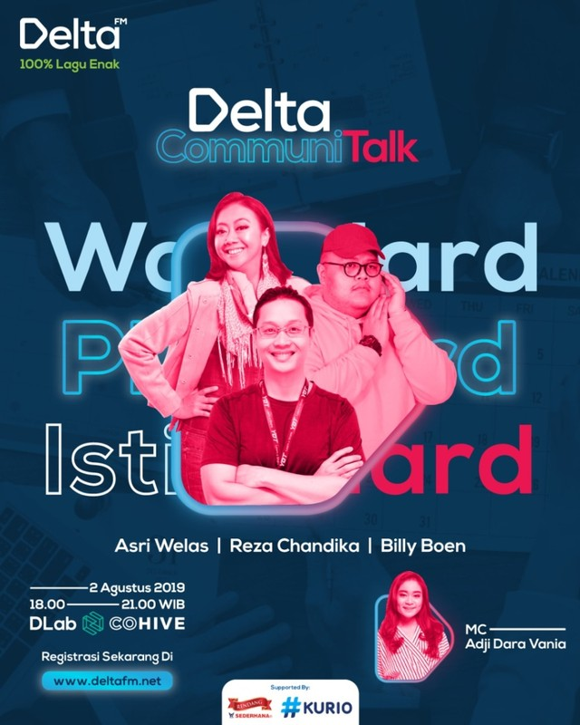 Delta Communi Talk (NOT COVER)