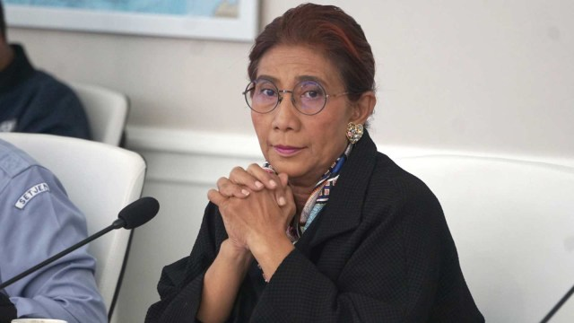 Jabatan Mau Habis, Susi Pamit ke DPR: Maaf Saya Tukang Nembakin Kapal (320496)