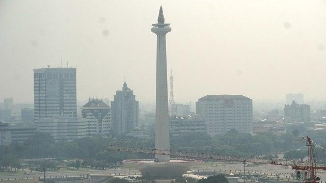 Kondisi Langit Jakarta Ketika Polusi