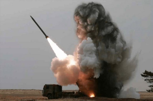 Roket KN-09 milik Korea Utara