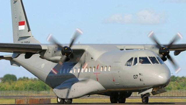 Pesawat CN-235 milik TNI AU